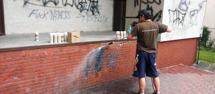 Odstraňování-graffiti Brno