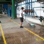 Strojové čištění podlah, koberců Brno