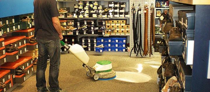 Impregnace podlah, strojové čištění koberců Brno