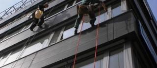 Nanoimpregnační nátěr na prosklené fasády Brno