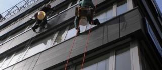 Výškové mytí oken Brno