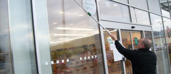 Leštění výloh a mytí oken v Brně