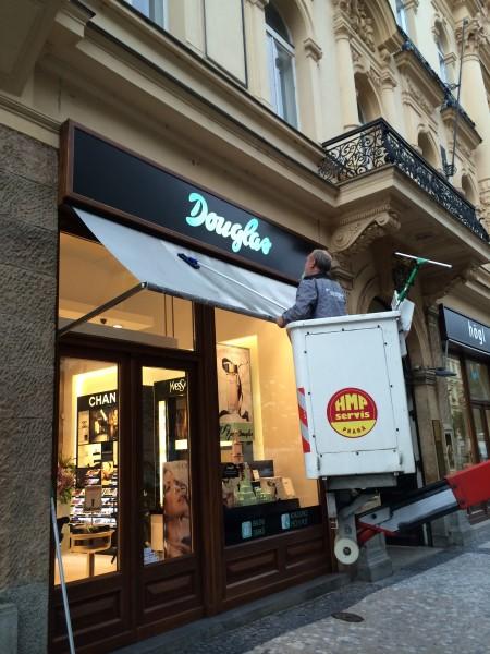 Impregnace markýz - dokonalé vyčištění Brno